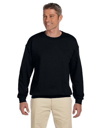 G180 Men's Gildan Crewneck Sweatshirt 50% cotton/50% poly