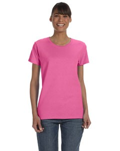 G500L Gildan Ladies' Heavy Cotton™ 8.8 oz./lin. yd. T-Shirt 12-24 pcs.