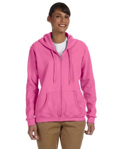 G186FL Gildan Ladies' Heavy Blend™ 13.3 oz./lin. yd., 50/50 Full-Zip Hood 12-24 pcs